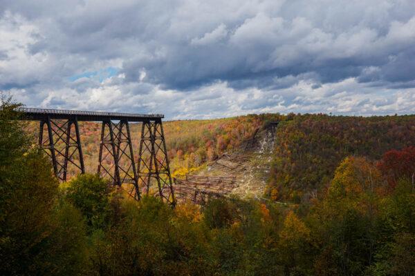 Kinzua Bridge State Park in the Fall