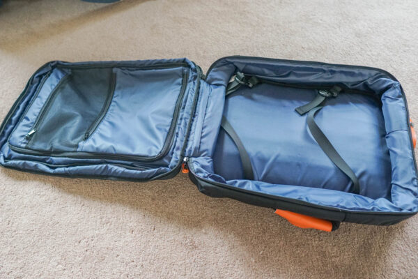 Expandable Suitcase Section for Standard Luggage