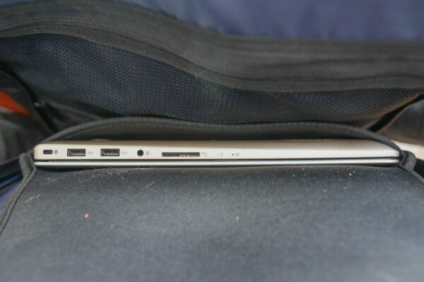 Laptop Compartment of Standard Luggage Backpack