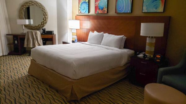 King Room at Marriott Hilton Head Resort & Spa