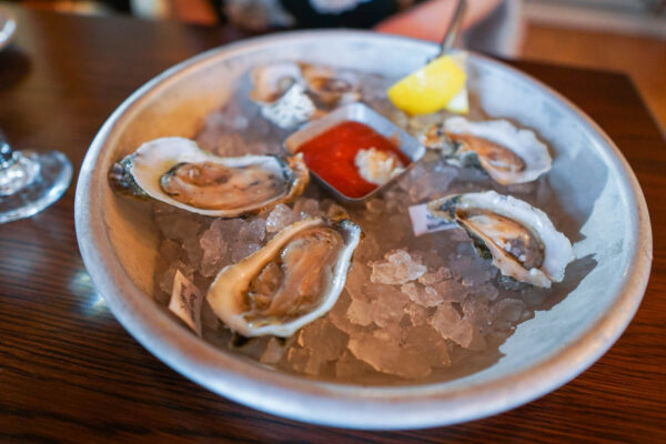 Oysters from the Original Oyster Factory in Hilton Head
