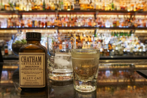 Chatham Artillery Milk Punch from Alley Cat Lounge