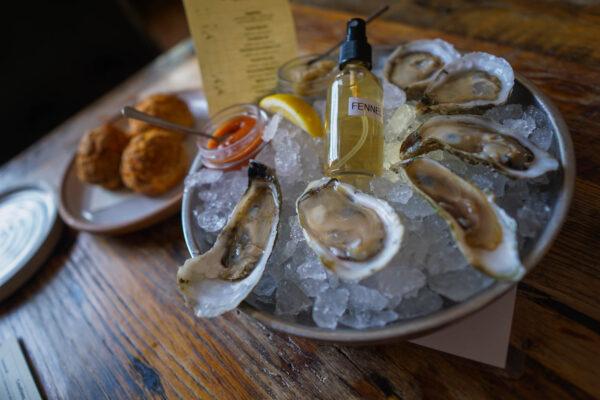Oysters at Husk Savannah