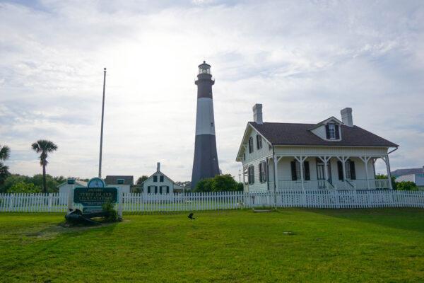 Lighthouse on Tybee Island