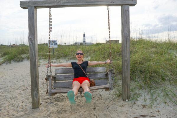 North Beach Swings at Tybee Island