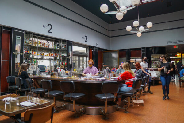 The Grey in Savannah is in a Former Greyhound Bus Station