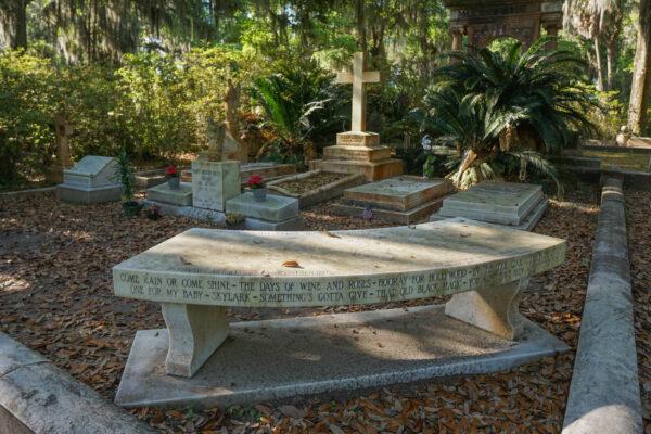 Burial Plot of Johnny Mercer Near Savannah