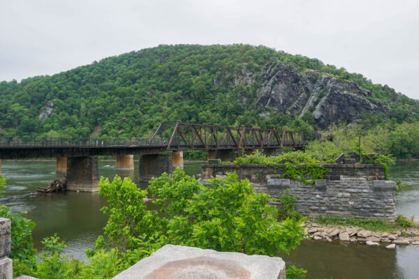 Bridge Crossing into Maryland at Harpers Ferry