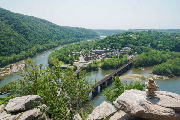 Harpers Ferry from the Maryland Heights Trail Overlook