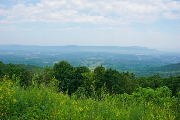 Lookout Views from Skyline Drive at Shenandoah National Park