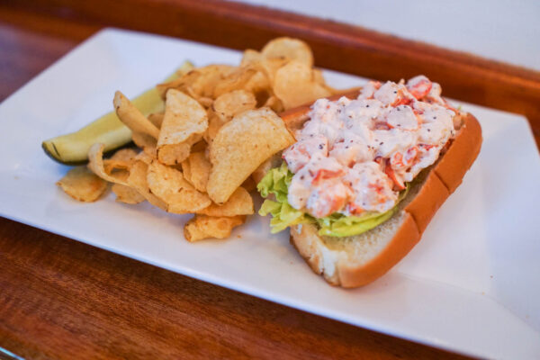 Lobster Roll from The Barnacle in Bar Harbor