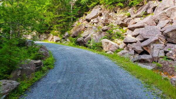 Gravel Carriage Trail at Acadia