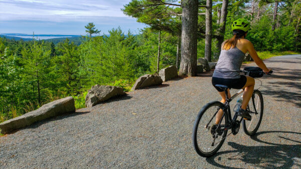 Biking the Carriage Trails at Acadia National Park
