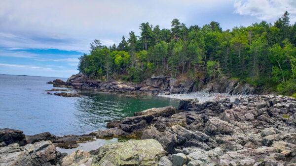 Ocean views from Acadia National Park
