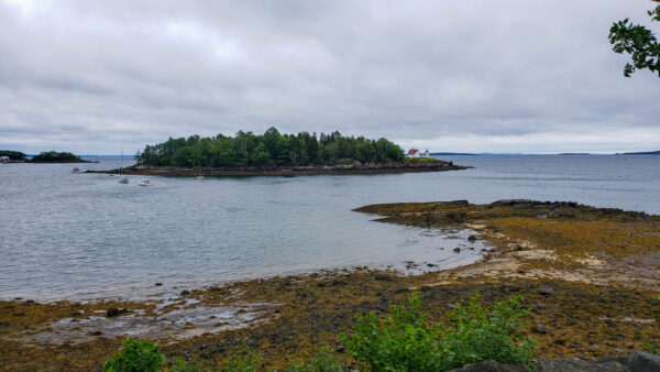 Curtis Island Lighthouse in Maine