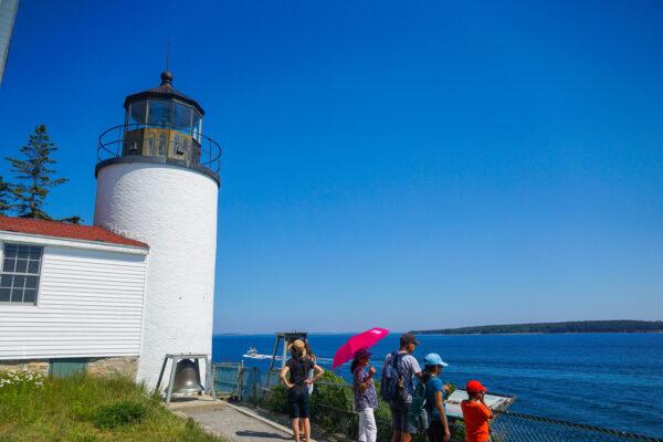 Bass Harbor Head Lighthouse Near Bar Harbor