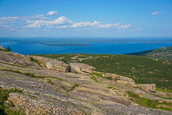 Cadillac Mountain Summit at Acadia