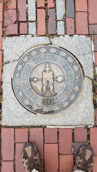 Boston Freedom Trail Marker