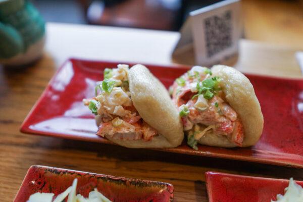 Lobster bao from Pai Men Miyake