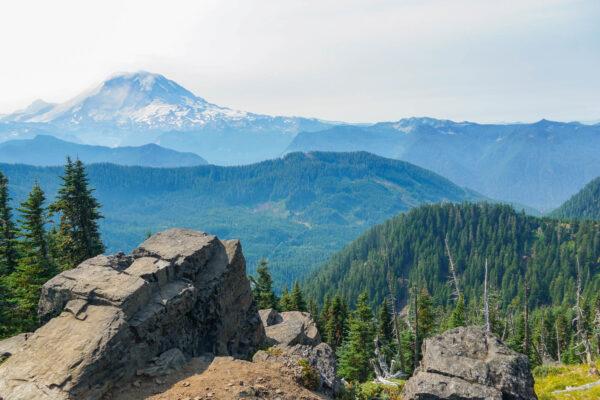 Mount Rainier from the Summit Lake Hike